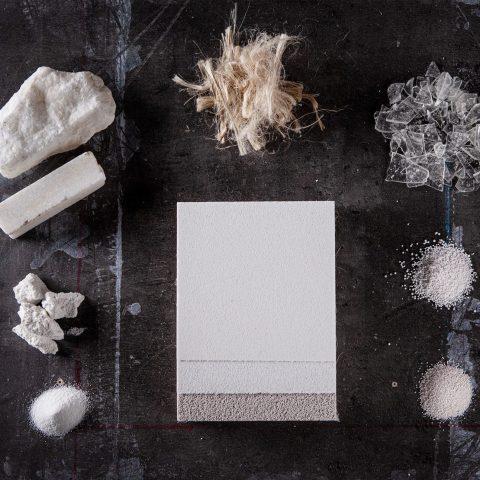 BASWA Natural besteht aus natürlichen und recycelten Materialien
